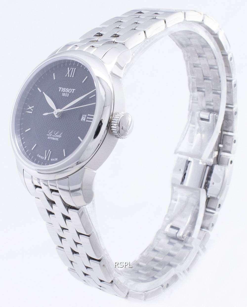 Reloj automático de diamante tissot armani, reloj mecánico
