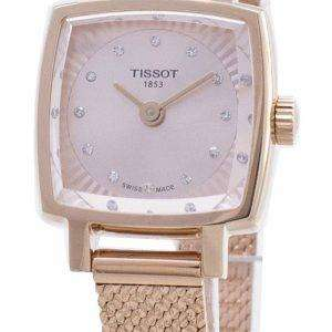 Tissot T-Lady Lovely Square T058.109.33.456.00 T0581093345600 Reloj para mujer con detalles de diamantes
