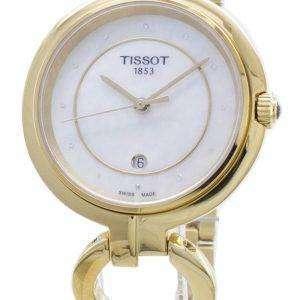 Reloj para mujer Tissot T-Lady Flamingo T094.210.33.116.00 T0942103311600 Diamond Accents