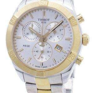 Tissot T-Classic PR 100 Sport T101.917.22.031.00 T1019172203100 Reloj cronógrafo para mujer