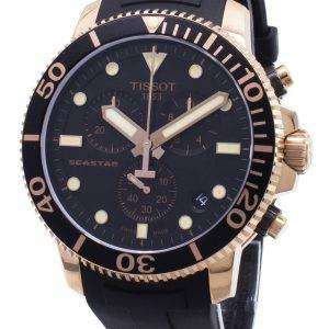 Tissot T-Sport Seastar 1000 T120.417.37.051.00 T1204173705100 Reloj de hombre cronógrafo 300M