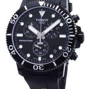 Reloj Tissot T-Sport Seastar 1000 T120.417.37.051.02 T1204173705102 cronógrafo para hombre