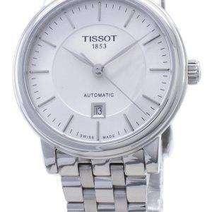 Tissot T-Classic Carson T122.207.11.031.00 T1222071103100 Reloj automático para mujeres