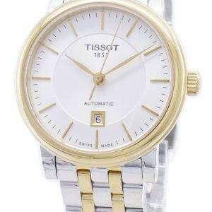 Tissot T-Classic Carson Premium T122.207.22.031.00 T1222072203100 Reloj automático para mujeres