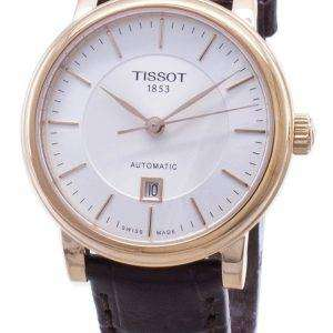 Tissot T-Classic Carson T122.207.36.031.00 T1222073603100 Reloj automático para mujeres