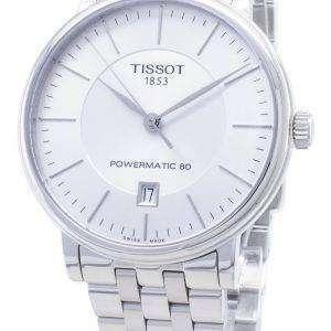 Tissot T-Classic Carson Premium Powermatic 80 T122.407.11.031.00 T1224071103100 Reloj automático para hombres