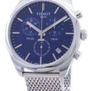 Tissot T-Classic PR 100 T101.417.11.041.00 T1014171104100 Reloj cronógrafo para hombre