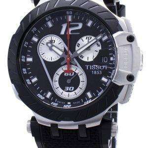 Tissot T-Race Jorge Lorenzo T115.417.27.057.00 T1154172705700 Reloj cronógrafo de edición limitada para hombre