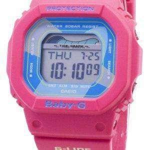 Reloj Casio Baby-G G-Lide BLX-560VH-4 BLX560VH-4 Tide Graph 200M para mujer