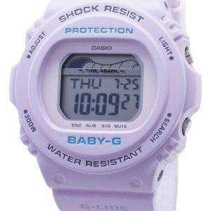 Casio Baby-G G-Lide BLX-570-6 BLX570-6 Gráfico de mareas Resistente a los golpes 200M Reloj de mujer
