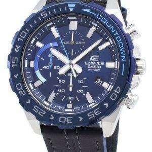 Casio Edifice EFR-566BL-2AV EFR566BL-2AV Cronógrafo Reloj de cuarzo para hombre