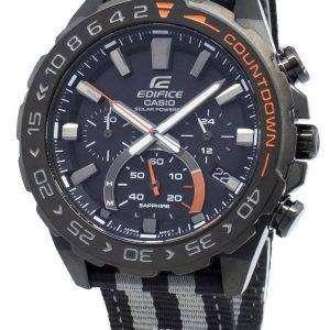 Casio Edifice EFS-S550BL-1AV EFSS550BL-1AV Cronógrafo Solar Reloj para hombre