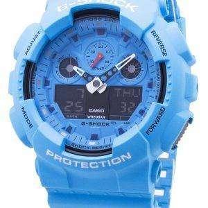 Reloj para hombre Casio G-Shock GA-100RS-2A GA100RS-2A Cronógrafo 200M para hombre