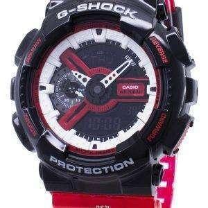 Casio G-Shock GA-110RB-1A GA110RB-1A Reloj de cuarzo resistente a los golpes 200M para hombre