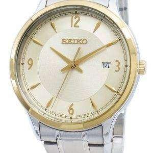 Seiko Classic SGEH92P SGEH92P1 SGEH92 Edición especial Reloj analógico de cuarzo para hombre