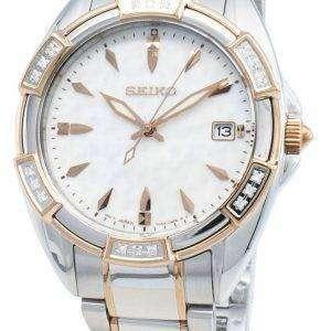 Reloj Seiko Conceptual SKK878P SKK878P1 SKK878 Diamond Acentos de cuarzo para mujer