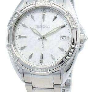 Reloj Seiko Classic SKK883P SKK883P1 SKK883 Diamond Acentos de cuarzo para mujer