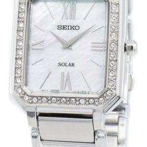Seiko Conceptual SUP427P SUP427P1 SUP427 Diamond Acentos Solar Reloj para mujer