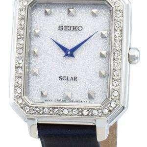 Seiko Conceptual SUP429P SUP429P1 SUP429 Diamond Acentos Solar Reloj para mujer