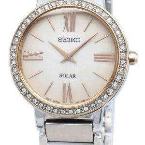 Reloj Seiko Conceptual SUP432P SUP432P1 SUP432 Diamond Acentos Solar para mujer