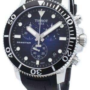 Reloj Tissot Seastar 1000 T120.417.17.041.00 T1204171704100 Cronógrafo 4 Joyas Quartz 300M Hombre