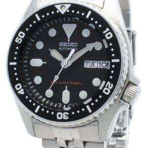 Reacondicionado Seiko Divers SKX013 SKX013K2 SKX013K Automático 200M Reloj para hombre