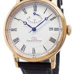 Reacondicionado Orient Star SEL09001W EL09001W Elegante reloj automático clásico para hombre