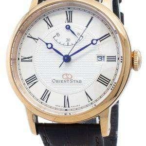 Reloj Orient Star elegante reacondicionado SEL09001W EL09001W Automatic Power Reserve para hombre