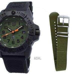 Luminox Navy Seal XS.3517.NQ.SET Reloj de cuarzo 200M para hombre