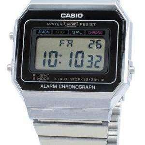 Reloj de cuarzo para hombre Casio Youth Digital A700W-1A A700W-1 Alarm