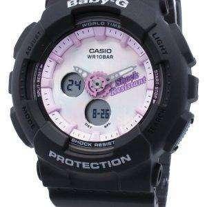 Reloj Casio Baby-G analógico digital BA-120T-1A BA120T-1A Reloj de cuarzo de hora mundial