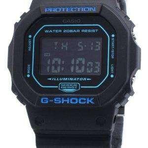 Casio G-Shock DW-5600BBM-1 DW5600BBM-1 Reloj de alarma de cuarzo para hombre