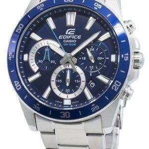 Casio Edifice EFV-570D-2AV EFV570D-2AV Reloj cronógrafo de cuarzo para hombre