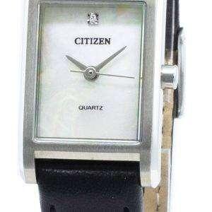Reloj Citizen Quartz EJ6121-01D Diamond Acentos para mujer