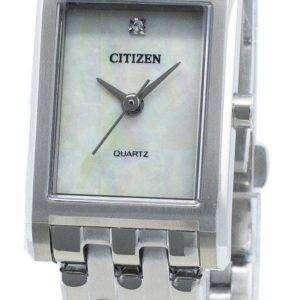 Reloj Citizen Quartz EJ6121-51D Diamond Acentos para mujer