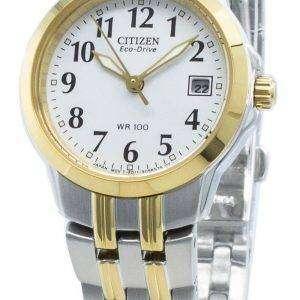 Reloj Citizen Silhouette EW1544-53A Eco-Drive para mujer