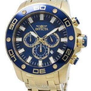 Invicta Pro Diver 26078 Reloj cronógrafo de cuarzo para hombre