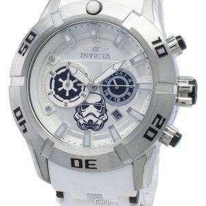 Invicta Star Wars Stormtrooper 26552 Cronógrafo Quartz 100M Reloj para hombre