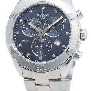 Tissot T-Classic T101.917.11.046.00 T1019171104600 Reloj cronógrafo de cuarzo para mujer