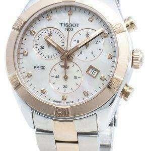 Tissot T-Classic T101.917.22.116.00 Reloj cronógrafo de cuarzo para mujer