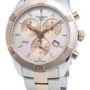 Reloj Tissot T-Classic T101.917.22.151.00 T1019172215100 Cronógrafo de cuarzo para mujer