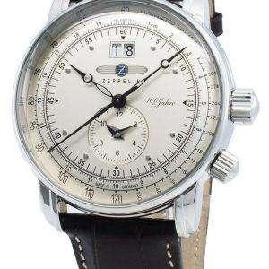 Zeppelin 100 Jahre 7640-1 76401 Reloj de cuarzo taquímetro para hombre