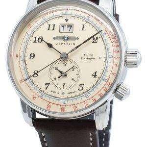 Zeppelin LZ126 Los Angeles 8644-5 86445 Reloj de pulso de cuarzo para hombre