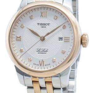Tissot Le Locle T006.207.22.036.00 T0062072203600 Diamond Acentos Reloj automático para mujer