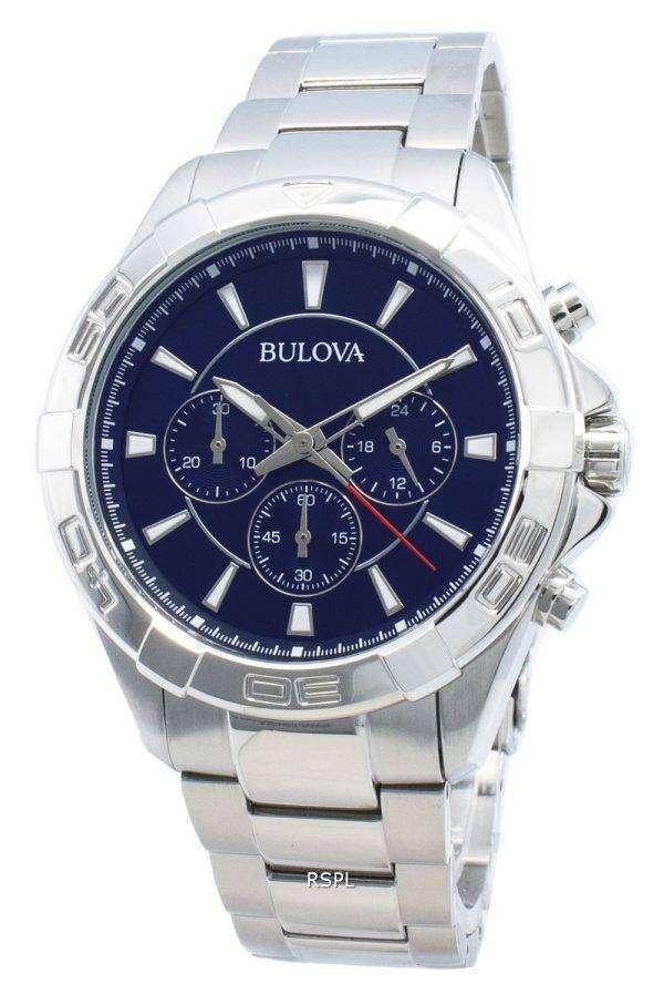Bulova 96A215 Reloj cronógrafo de cuarzo para hombre