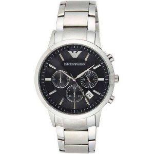 Emporio Armani Classic AR2434 Reloj cronógrafo de cuarzo para hombre
