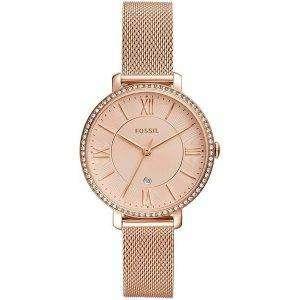 Fossil Jacqueline ES4628 Diamond Acentos Reloj de cuarzo para mujer