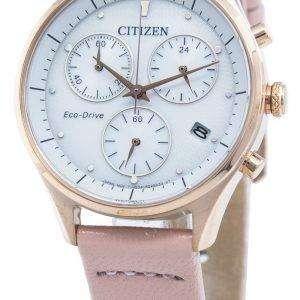 Reloj Citizen Chandler FB1443-08A Cronógrafo Eco-Drive para mujer