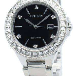 Reloj Citizen Silhouette FE1190-53E Diamond Accents Eco-Drive para mujer