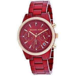 Michael Kors Ritz MK6665 Diamond Acentos Reloj de cuarzo para mujer